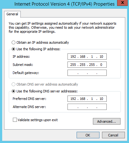how to turn network discovery on server 2012